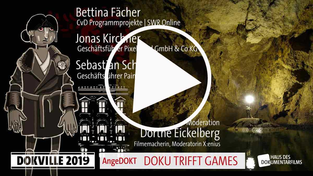 dokville 2019 Blautopf VR und Through the darkest of Times