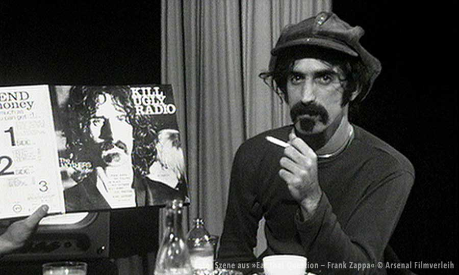 Szene aus »Eat that Question - Frank Zappa in his own words« @ SWR/UFA fiction