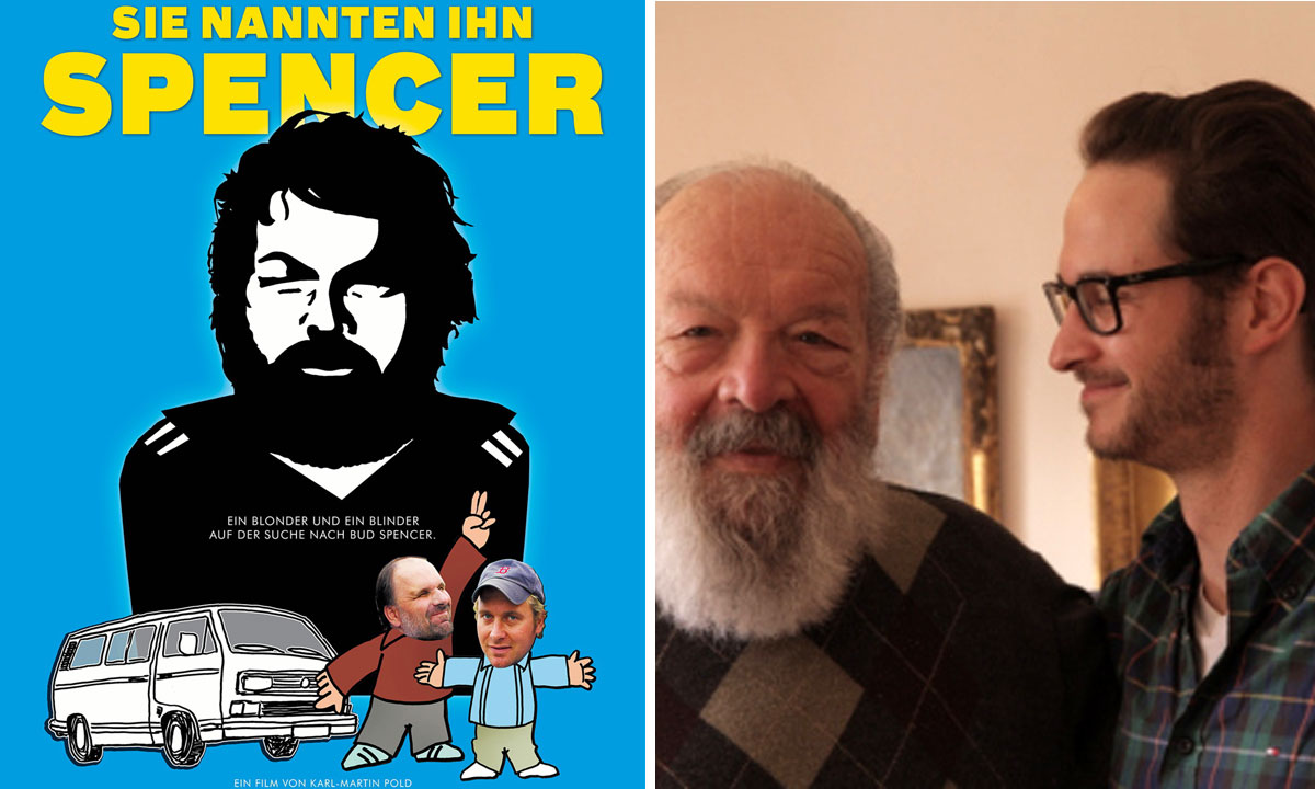 Foto: Filmplakat / Bud Spencer und Karl-Martin Pold @ Buddy Lane Productions, budspenvermovie.com