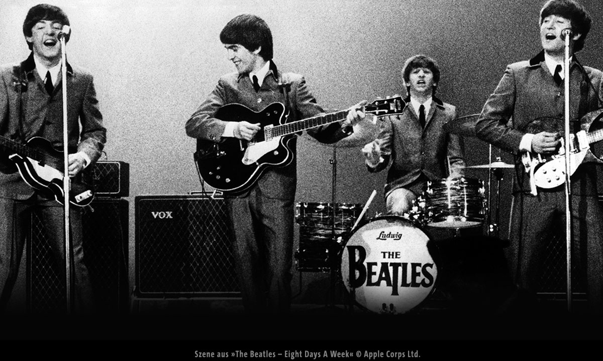 Szene aus »The Beatles – Eight Days A Week« © Apple Corps Ltd.